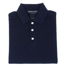 School Uniform Navy Blue Short Sleeve Polo Shirt Unisex French Toast 14 Husky - $13.69