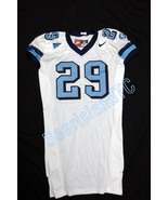 UNC Tarheel GAME USED WORN FOOTBALL JERSEY SIZE... - $69.00