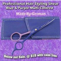 German Hair Stylist Barber Shears Blue & Purple Scissor - €11,46 EUR