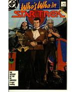 Who's Who in STAR TREK #1 (DC Comics) NM! - $1.50