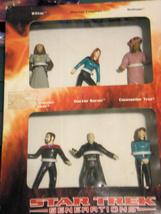 Star Trek -Generations- (6 Figure Set) - $25.00