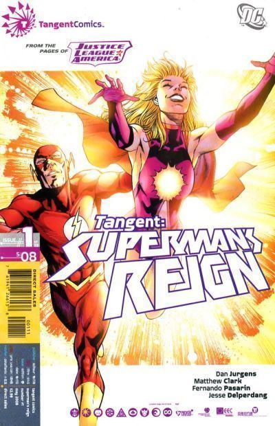 TANGENT: SUPERMAN'S REIGN #1 (DC Comics, 2008) NM!