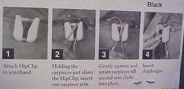 Stethoscope Hip Clip Holder Red EMT Nurse Belt Clip NIB image 4