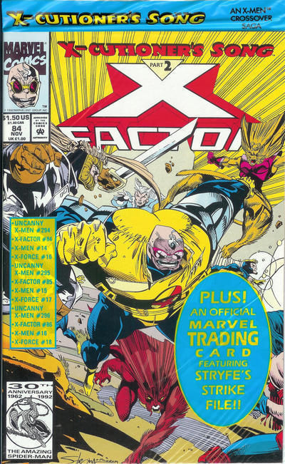 X-Factor #84 NM! ~ MUTANT MAYHEM