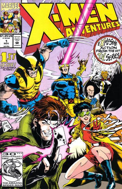 X-Men Adventures #1 NM! ~ MUTANT MAYHEM