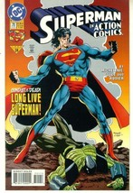 Action Comics #711 Nm! ~ Superman! - $1.00