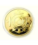US Coast Guard Gen MacArthur Victory Medallion Merlin Gold Challenge Coin - $24.22