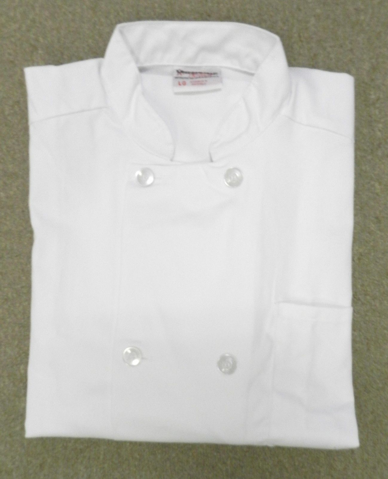 Uncommon Threads JS400 Restaurant Uniform Executive Chef Coat Jacket White L New
