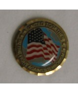 United Together Fight Terrorism 9-11 US Flag Coin - $19.37