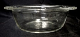 Vintage Anchor Hocking Fire King 1 Pint Handled Mini Casserole Glass Dish USA - $15.65