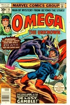 OMEGA the UNKNOWN #10 (1977) - $1.50