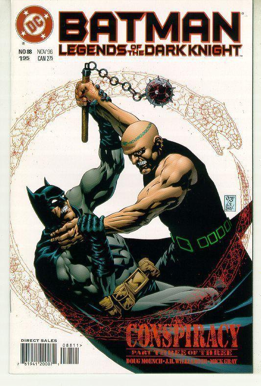 BATMAN LEGENDS OF THE DARK KNIGHT #88 (DC Comics) NM!