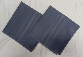 Vintage Lot of 5 Country Blue Decorative Linen Cloth Table Napkins Bread... - $29.37