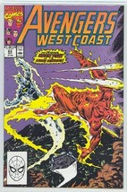 AVENGERS WEST COAST #63 NM! - $1.50