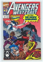 AVENGERS WEST COAST #70 NM! - $1.50
