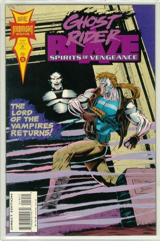 SPIRITS of VENGEANCE #19 (Ghost Rider & Blaze) NM!