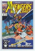 AVENGERS WEST COAST #68 NM! - $1.50