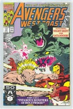 AVENGERS WEST COAST #77 NM! - $1.50