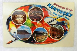 Vintage Uncirculated Greetings from Kentucky Bl... - $24.47