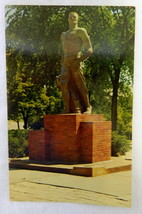 Vintage Uncirculated Spartan Statue Michigan State University Souvenir P... - $19.37