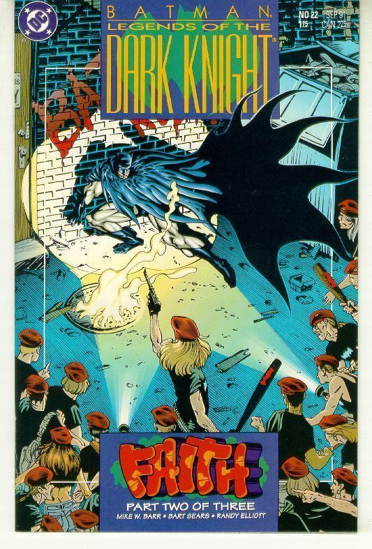 BATMAN LEGENDS OF THE DARK KNIGHT #22 (DC Comics) NM!