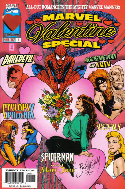 MARVEL VALENTINE SPECIAL #1 (1997) NM!