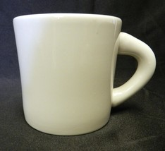 Vintage White Large Gift Planter Pot Pottery Cup Mug USA Collectible Glassware - $24.47