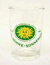 West Germany Shot Glass Schmitt Sohne Sonnenqua... - $16.63