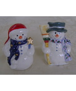 Artic Cheer, Salt  & Pepper Shaker Set, Snowmen - $20.00