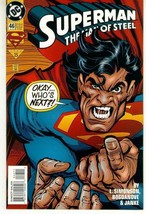 SUPERMAN: THE MAN of STEEL #46 NM! - $1.50