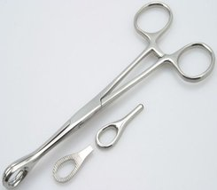 Forester Standard Forceps Piercing Tool Pierce Clamp [Health and Beauty] - $8.91