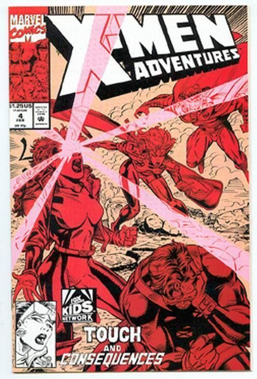 X-MEN ADVENTURES #4 NM!