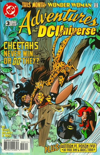 Adventures in the DC Universe #3 (DC Comics, 1997) NM!