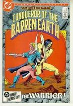 CONQUEROR of the BARREN EARTH #3 (DC Comics, 1985) NM! - $1.50