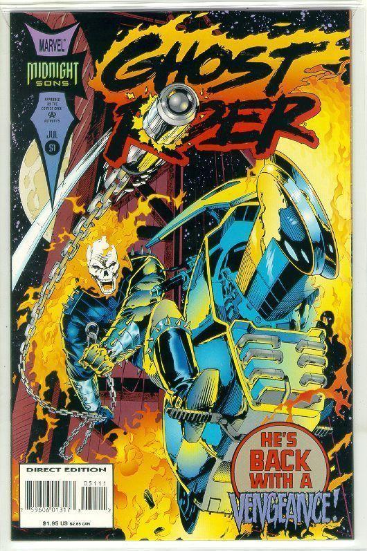 GHOST RIDER #51 (1990 Series) NM!