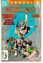 WARLORD ANNUAL #6 (1987) NM! - $2.00
