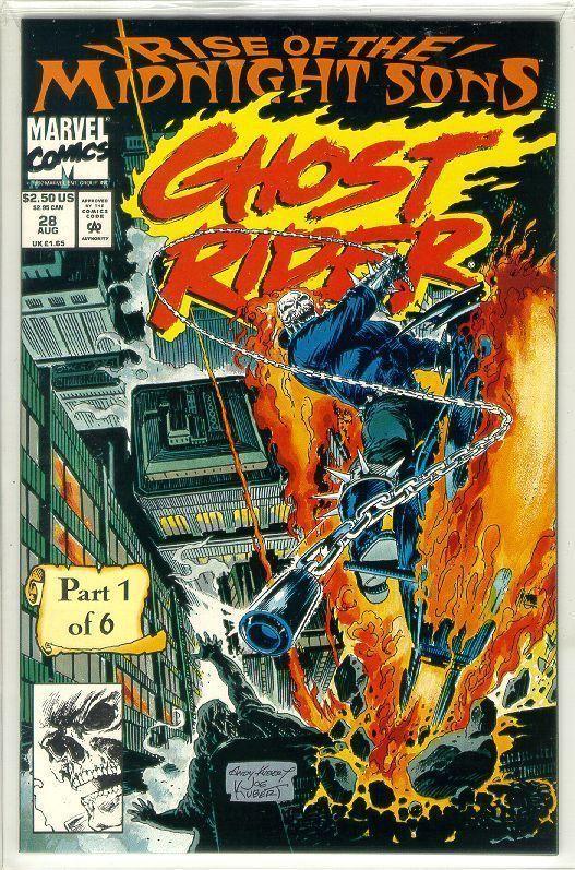 GHOST RIDER #28 (1990 Series) NM!