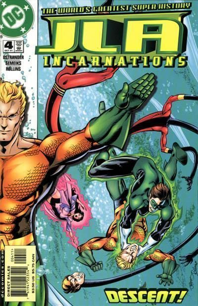 JLA: INCARNATIONS #4 NM!