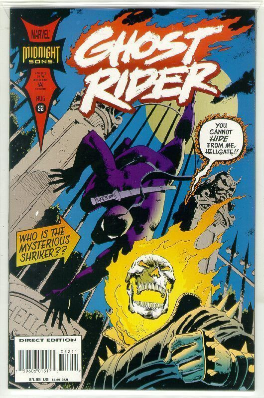 GHOST RIDER #52 (1990 Series) NM!
