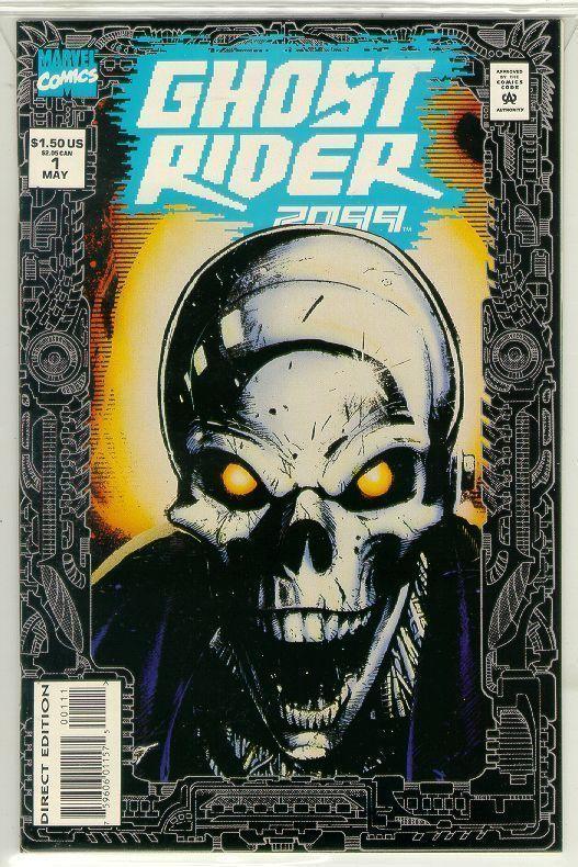 GHOST RIDER 2099 #1 (Newsstand) NM!