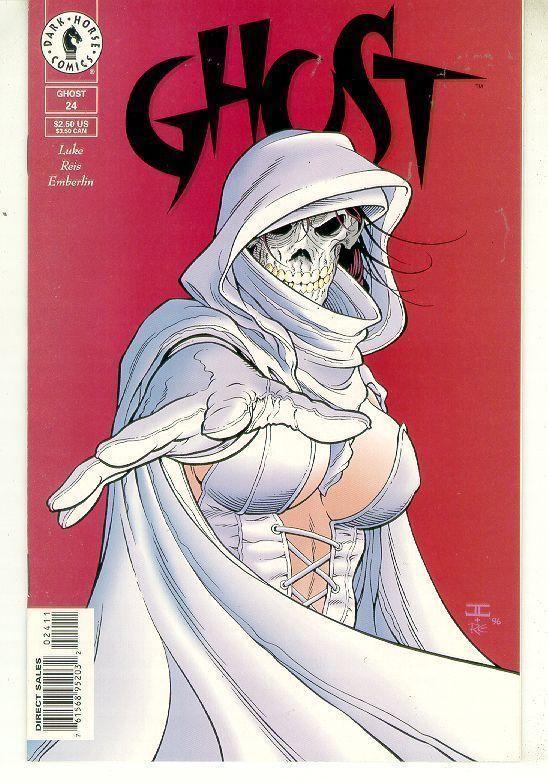 GHOST #24 (Dark Horse Comics, 1995 Series) NM!