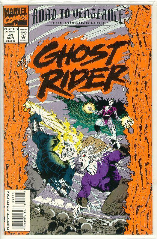 GHOST RIDER #41 (1990 Series) NM!