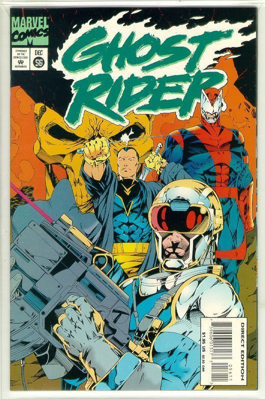 GHOST RIDER #56 (1990 Series) NM!