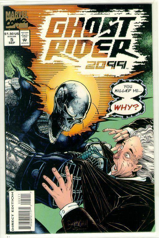 GHOST RIDER 2099 #5 NM!