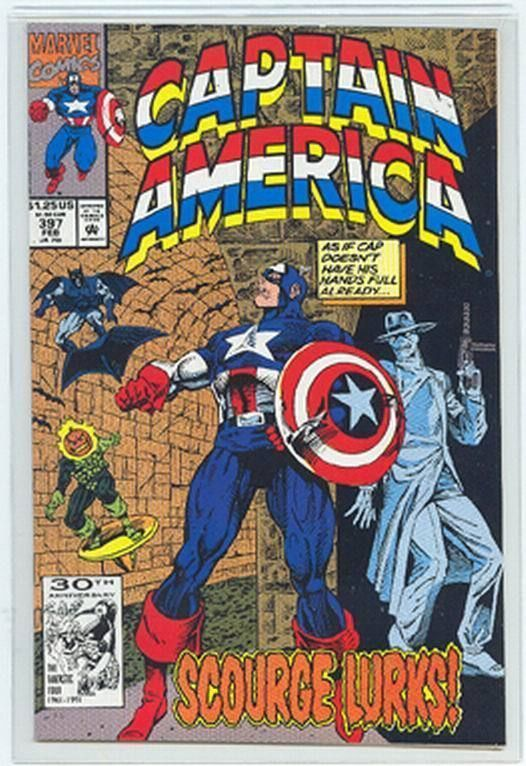CAPTAIN AMERICA #397 NM!