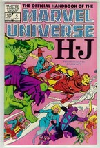 OFFICIAL HANDBOOK OF THE MARVEL UNIVERSE #5 NM! - $2.50