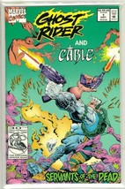 GHOST RIDER and CABLE #1 NM! - $2.50