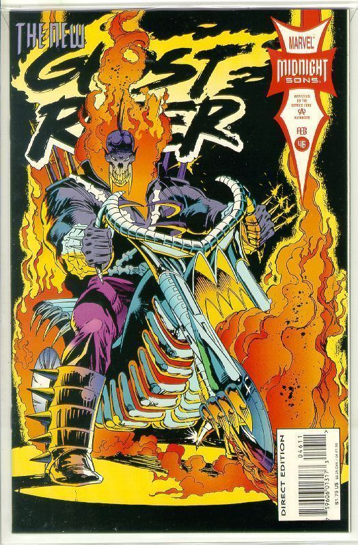 GHOST RIDER #46 (1990 Series) NM!