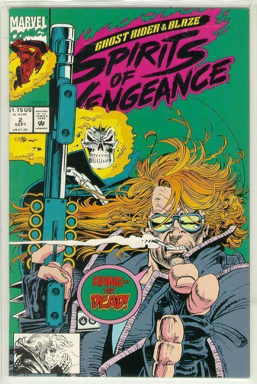 SPIRITS of VENGEANCE #2 (Ghost Rider & Blaze) NM!