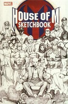 HOUSE of M SKETCHBOOK NM! ~ X-MEN - $1.50
